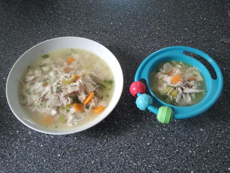 Papa-Suppe und Kind-Suppe