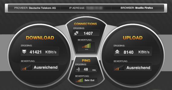 VDSL 50 mit LAN