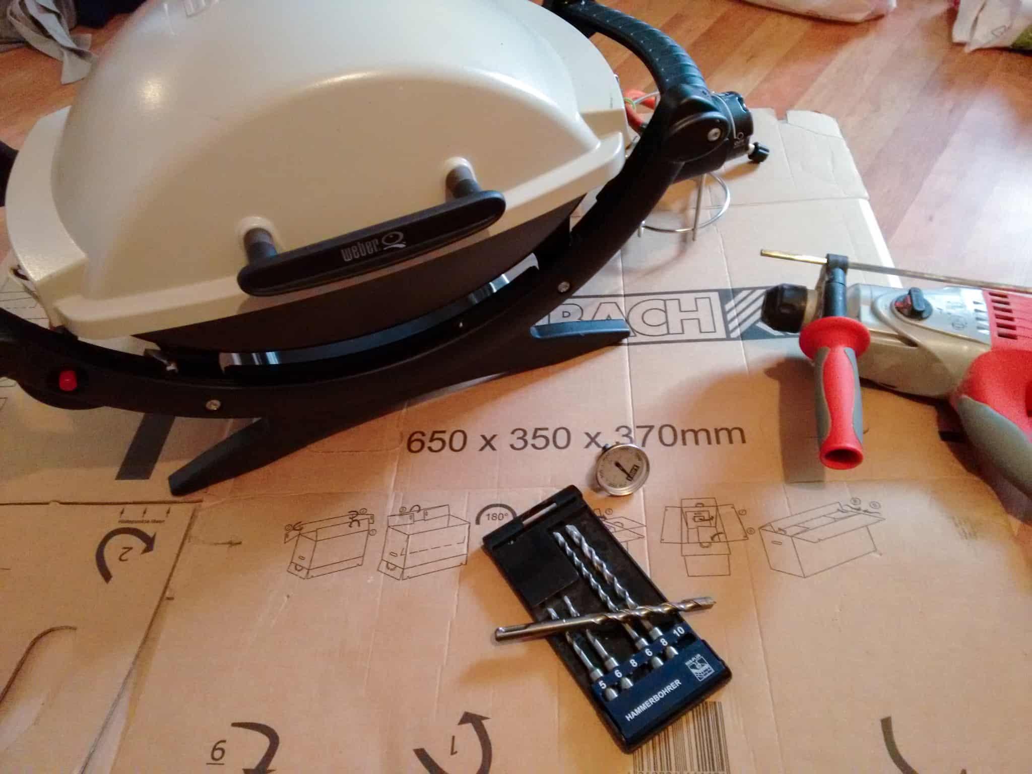 Weber Elektrogrill Mit Thermometer : Weber grill mit einem thermometer nachrüsten sebastian michalke